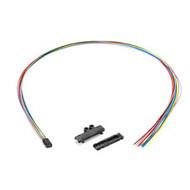Black Box Fan-Out Kit, 12-Fiber Buffer Tube, 25-in. EFN12-24