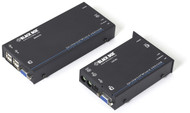 Black Box KVM Extender, VGA, USB, Audio, CATx, Dual Access ACU5050A-R2