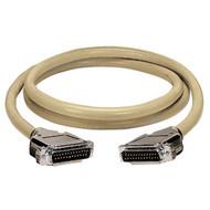 Black Box RS232 DBL Shielded Cable w/ Molded Hood DB25M/F 25 Cond 35Ft. EGM25C-0035-MF