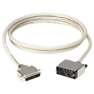 Black Box RS-530/V.35 Adapter Cable, V.35 Female, 6-ft. (1.8-m) EHN067T-0006-MF