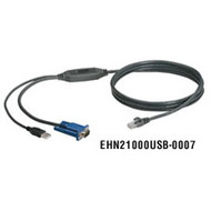 Black Box ServSelect III USB Style Cable, 7-ft. (2.1-m) EHN21000USB-0007