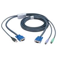 Black Box KVM FLASH CABLE, VGA, PS2 TO USB, 6FT EHN428-0006