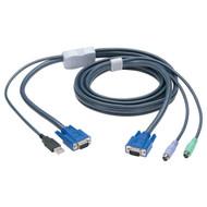 Black Box KVM FLASH CABLE, VGA, PS2 TO USB, 10M EHN428-010M