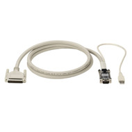 Black Box KVM CPU CABLE, DB25, VGA, USB, COAX, 50FT EHN485-0050
