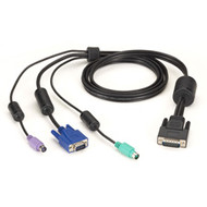 Black Box ServSwitch Secure KVM Switch Cable, VGA and PS/2 to HD26 EHNSECURE1-0006