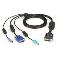 Black Box ServSwitch Secure Switch Cable, VGA and PS/2 to HD26, 12-ft. EHNSECURE1-0012