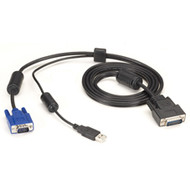Black Box ServSwitch Secure Switch Cable, VGA and USB to HD26, 12-ft. EHNSECURE2-0012