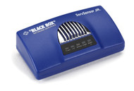 Black Box AlertWerks ServSensor Jr. Kit with PoE, 2-Port, (1) Temperature Sensor EME153A
