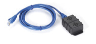 Black Box Enviro Monitoring Sys Dual Temperature Humidity Sensor 5 ft Cable EME1TH2-005