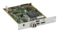 Black Box KVM Receiver, DVI-D, USB HID, SM Fiber, Modular Ext Card ACX1MR-HDMI-SM