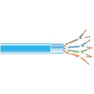 Black Box 1000' CAT5e 100MHz Stranded Bulk Cable FTP CM PVC BL EVNSL0172BL-1000