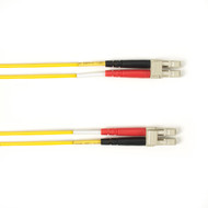 Black Box 1-m, LC-LC, 50-Micron, Multimode, PVC, Yellow Fiber Optic Cable FOCMR50-001M-LCLC-YL