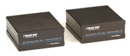 Black Box KVM Extender, DVI-D, USB, Dual Access, Multi-Mode Fiber ACX310F