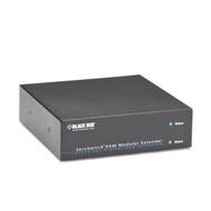 Black Box Modular KVM Extender Housing, 2 Slot w/ Redundant Power Supply ACXMODH2R-R2