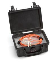 Black Box Fiber Optic Launch Box, Multimode, 50-Micron, 300-m, LC FOLBM50-LC-300
