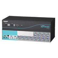 Black Box 12-Port ServSwitch Duo KVM Switch KV6112FA-R2
