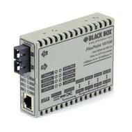 Black Box FlexPoint Modular Media Converter, 10BASE-T/100BASE-TX to 100BASE- LMC100A-SC-R3