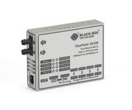 Black Box FlexPoint Modular Media Converter, 10BASE-T/100BASE-TX to 100BASE- LMC100A-SMSC-LH-R2