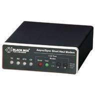 Black Box Async/Sync RS232 Extender over CATx DB25 F to RJ45/Terminal Block ME475A-R2