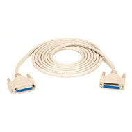 Black Box DB25 Extension Cable, Female/Female, 10-ft. (3.0-m) BC00704