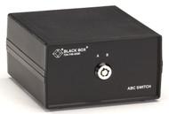 Black Box Desktop DB25 2 to 1 Manual Switch FFF Lockable SW020A-FFF