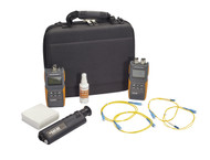 Black Box Fiber Single-Mode Test Kit 1310/1550nm with Data Logging FOLSPM-SM-DL