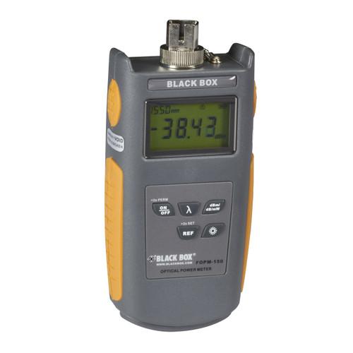 Black Box Fiber Multimode/Single-Mode Power Meter FOPM-150