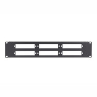 Black Box Black Box Connect Fiber Patch Panel - 2U, 6 Slot JPMT-FIBER-6