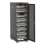 Black Box Mass Storage Cabinet - 84 Tablets Cable Management MSC-84-TCN