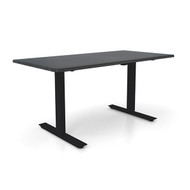 "Height Adjustable 30""x 60"" Ergonomic Business Desk - Sable"