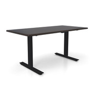 "Height Adjustable 30""x 60"" Ergonomic Business Desk - Ganache"