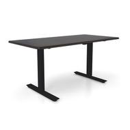 "Height Adjustable 30""x 48"" Ergonomic Business Desk - Ganache"