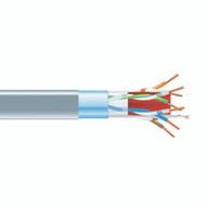 Black Box CAT6A F/UTP Bulk Cable, Solid, 500-MHz, 4-Pair, Plenum CMP, Gray, 1000 EYN10G23FA-1000