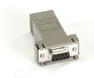 Black Box MicroSwitch Adapter, AT (DB9 F-RJ-45) FA043