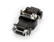 Black Box Data Tap, DB9, (3) DB9 Connectors, MFM FA149A