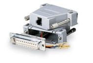 Black Box MMJ Adapter Kit DB25M To MMJF With Thumbscrews FA761