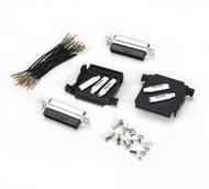 Black Box Two-Headed Hood Kit, DB25 (2) Male FA802