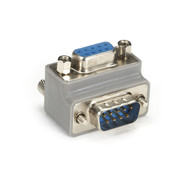 Black Box Right-Angle DB9 Adapter - Male/Female with Female Exit FA882