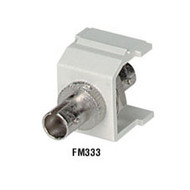 Black Box GigaStation ST Adapter Snap Fitting, Office White FM333