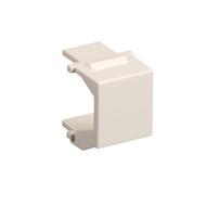 Black Box Snap Fitting Keystone Blank White 20-Pack FM359C