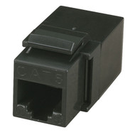 Black Box Cat5E Unshielded Coupler Black FM450