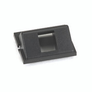 Black Box 1-Port Keystone, Angled GigaStation+ Module, 1.5 Unit High, Black FM540