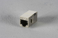 Black Box Cat6 Shielded Straight-Pin Coupler Office Silver FM608