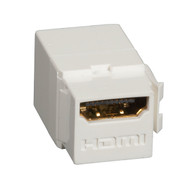 Black Box Snap Fitting Keystone HDMI F/F Office White FMT1001