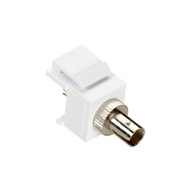 Black Box Snap Fitting Keystone ST Adapter White FMT323-R2
