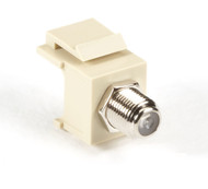 Black Box Snap Fitting Keystone F-Connector Ivory FMT338-R2