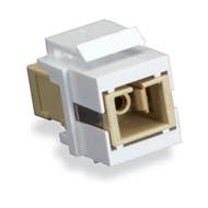 Black Box GigaStation2 Snap Fitting - SC Simplex, Female/Female, White FMT346-R3