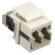 Black Box Snap Fitting Keystone LC Adapter Office White FMT354-R3