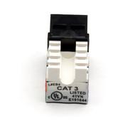 Black Box CAT3 Jack, Black, Single-Pack FMT365-R2