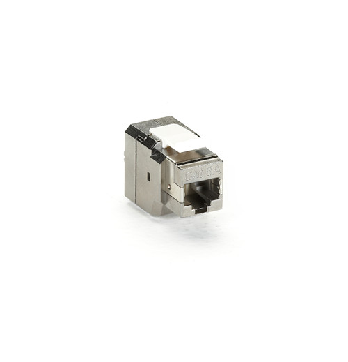 Black Box CAT6a Shielded Jack - T568B Wiring, 4-Pair FMT700